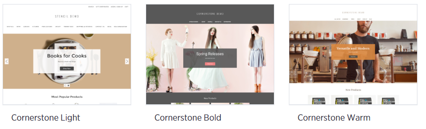Cornerstone Bold Theme- Sell Grocery Online