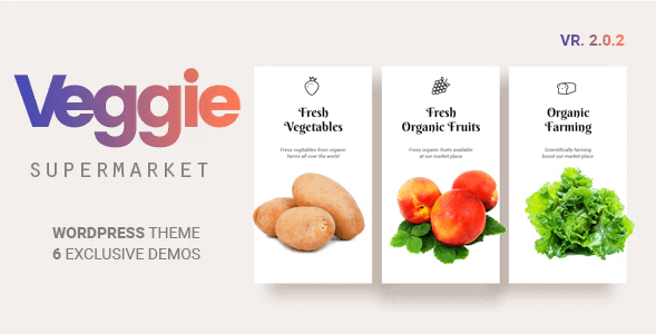 Veggie Vegetable and Fruit Shop WordPress Theme- Veggie Super Market