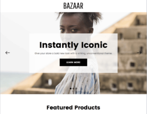 Bazaar Bold BigCommerce Theme- Sell Clothing & Apparel Online with BigCommerce