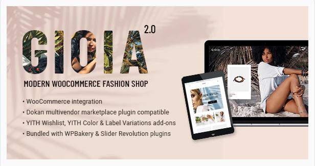 Gioia Theme- Start Online Boutique using WooCommerce