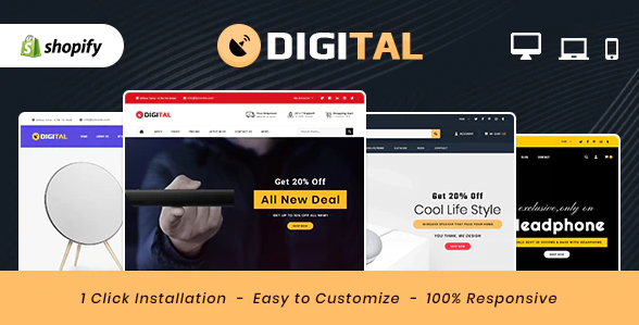 Digital Theme- Opening an Online Store for Electronics