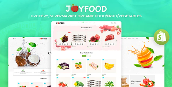Joyfood Theme- Start My Own Online Vegetable Delivery Business