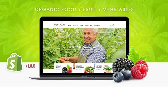 Organic Theme- Start My Own Online Vegetable Delivery Business