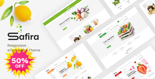 Safira Theme- Start My Own Online Vegetable Delivery Business