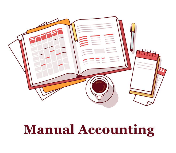 manual accounting- Accounting Software for Grocery Stores